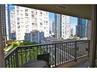 """Photo 10: 605 989 RICHARDS Street in Vancouver: Downtown VW Condo for sale in """"THE MONDRIAN"""" (Vancouver West)  : MLS®# V833931"""