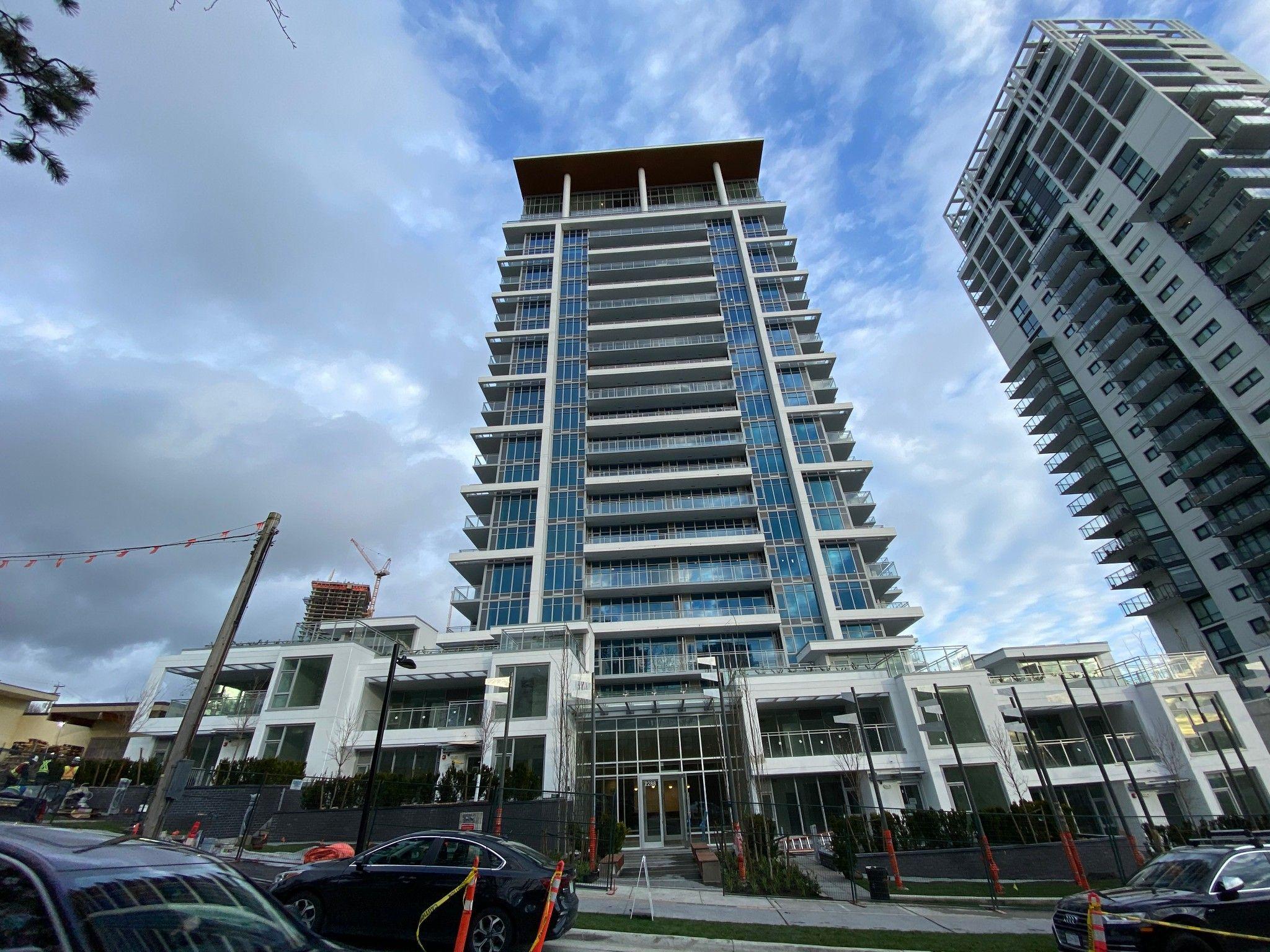 Main Photo: 1705 2288 Alpha Avenue in Burnaby: Condo for sale (Burnaby North)