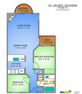 """Photo 19: 207 888 W 13TH Avenue in Vancouver: Fairview VW Condo for sale in """"CASABLANCA"""" (Vancouver West)  : MLS®# R2485029"""