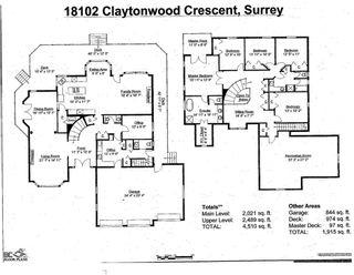 """Photo 2: 18102 CLAYTONWOOD Crescent in Surrey: Cloverdale BC House for sale in """"Claytonwoods"""" (Cloverdale)  : MLS®# R2580715"""
