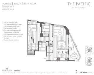 Main Photo: 2306 889 PACIFIC STREET in Vancouver: South Vancouver Condo for sale (Vancouver East)  : MLS®# R2612388