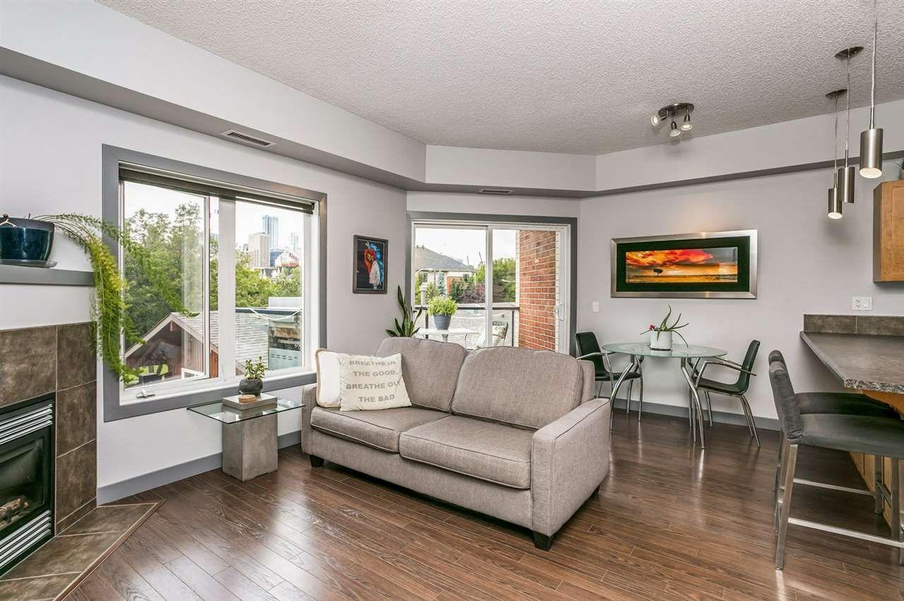 Main Photo: 312 9750 94 Street in Edmonton: Zone 18 Condo for sale : MLS®# E4227936