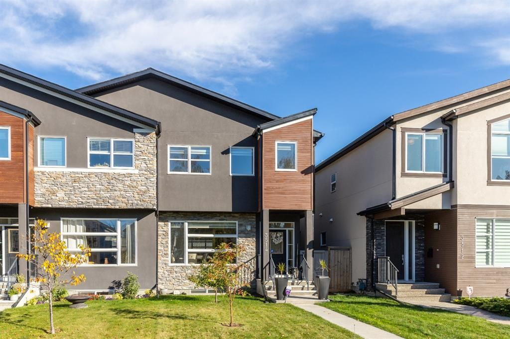Main Photo: 3514 1 Street NW in Calgary: Highland Park Semi Detached for sale : MLS®# A1152777