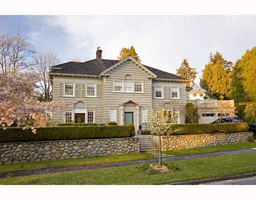 Main Photo: 5326 CONNAUGHT DRIVE in : Shaughnessy House for sale : MLS®# V764717