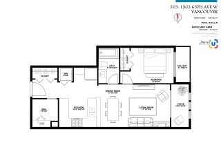 """Photo 16: 315 1503 W 65TH Avenue in Vancouver: S.W. Marine Condo for sale in """"SOHO"""" (Vancouver West)  : MLS®# R2565615"""