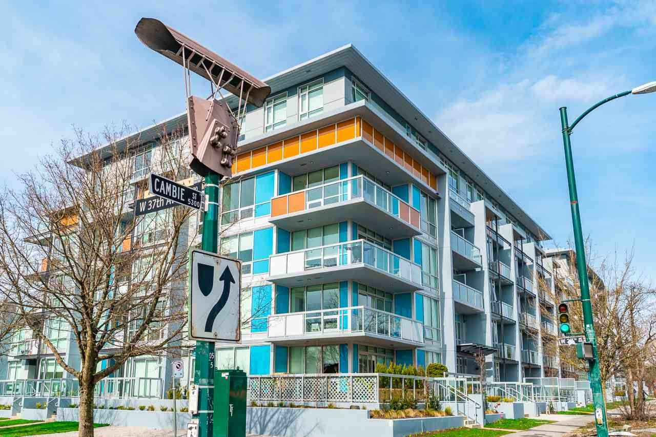 """Main Photo: 605 5289 CAMBIE Street in Vancouver: Cambie Condo for sale in """"CONTESSA"""" (Vancouver West)  : MLS®# R2553208"""