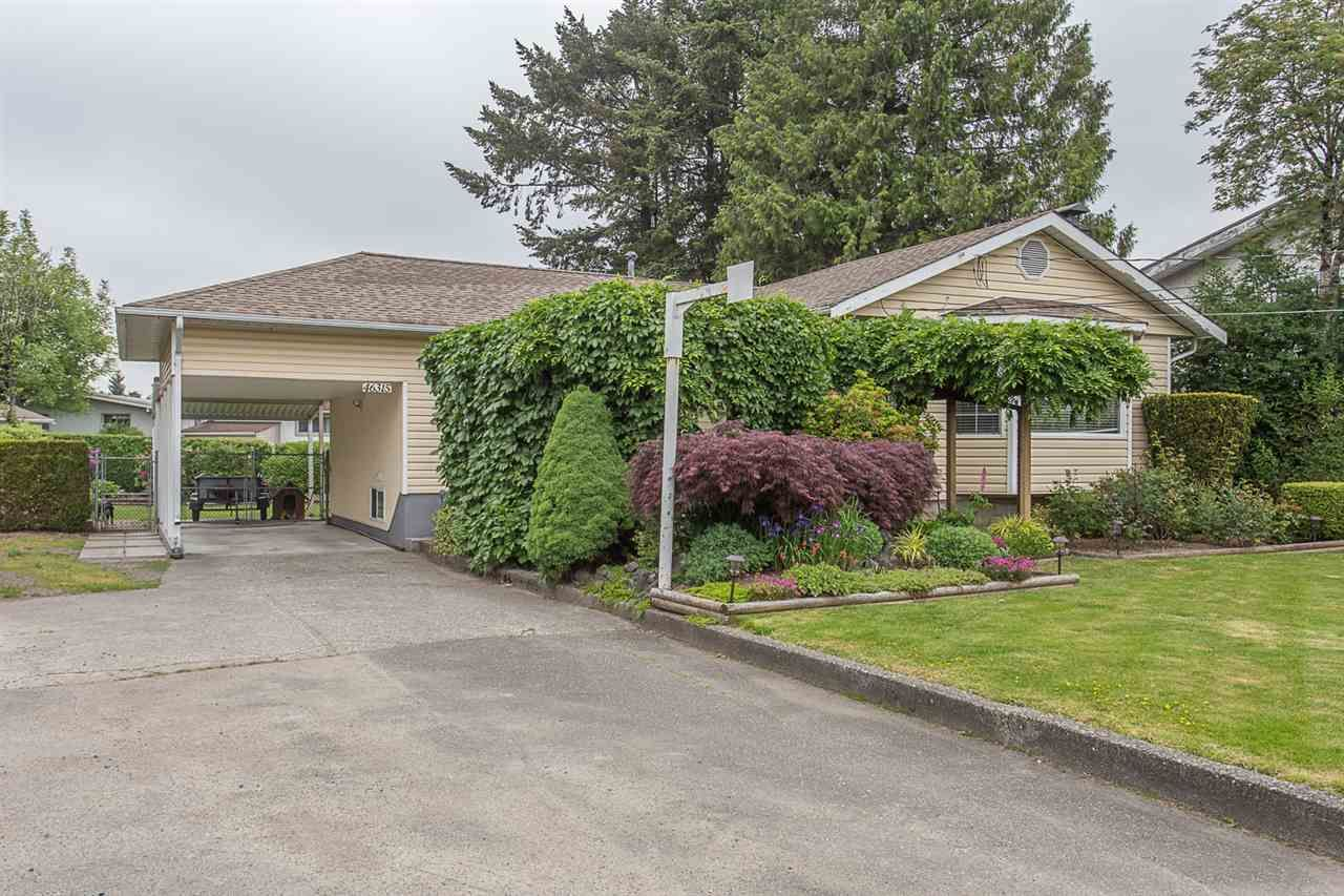 Main Photo: 46315 BROOKS Avenue in Chilliwack: Chilliwack E Young-Yale House for sale : MLS®# R2272256
