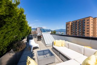 """Main Photo: 306 557 E CORDOVA Street in Vancouver: Strathcona Townhouse for sale in """"Cordovan"""" (Vancouver East)  : MLS®# R2545013"""