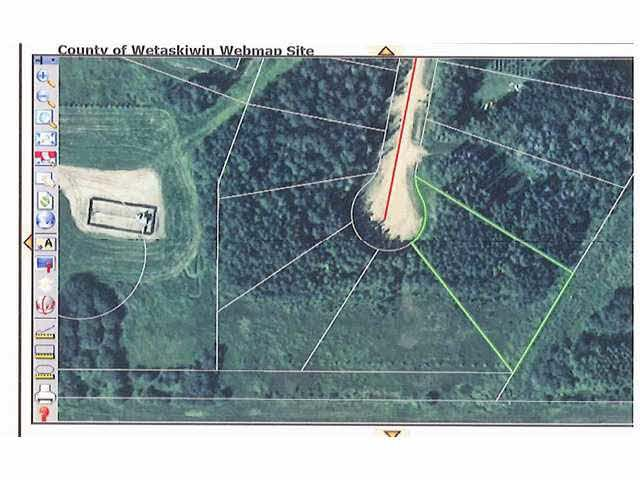 Main Photo: 22 Beachside Estates: Rural Wetaskiwin County Rural Land/Vacant Lot for sale : MLS®# E4203967