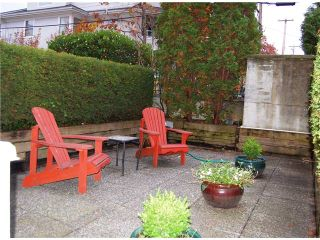 "Photo 6: 108 3278 HEATHER Street in Vancouver: Cambie Condo for sale in ""THE HEATHERSTONE"" (Vancouver West)  : MLS®# V856986"