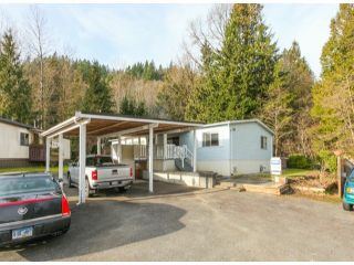"""Photo 1: 26 10221 WILSON Road in Mission: Stave Falls Manufactured Home for sale in """"TRIPLE CREEK ESTATES"""" : MLS®# F1428351"""
