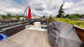 """Photo 1: 10 531 E 16TH Avenue in Vancouver: Mount Pleasant VE Townhouse for sale in """"HANNA"""" (Vancouver East)  : MLS®# R2562543"""