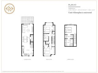 """Photo 19: 8 5122 CANADA Way in Burnaby: Burnaby Lake Townhouse for sale in """"SAVILE ROW"""" (Burnaby South)  : MLS®# R2561631"""