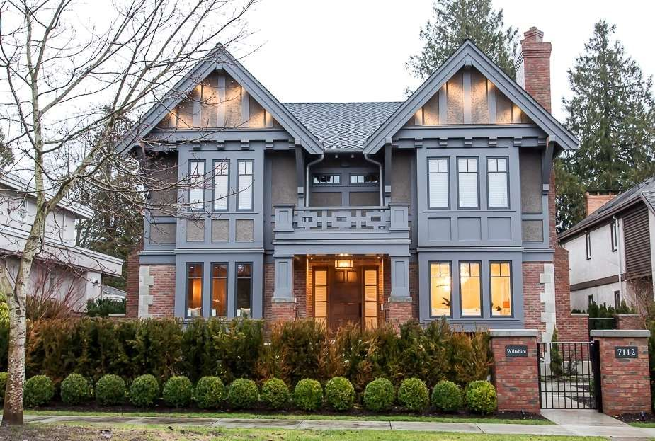 Main Photo: 7112 WILTSHIRE STREET in Vancouver: South Granville House for sale (Vancouver West)  : MLS®# R2024858