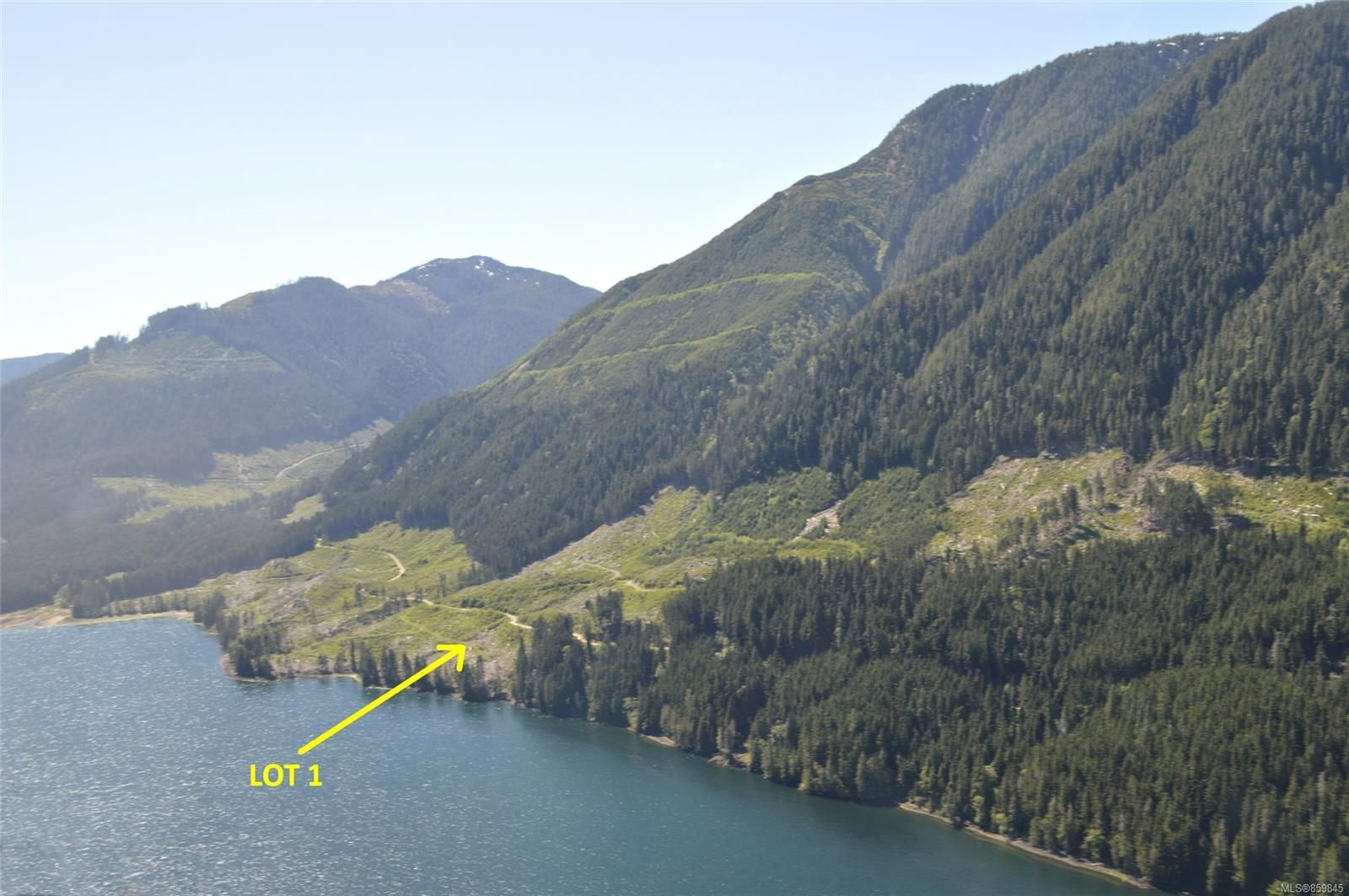 Main Photo: LT 1 Neroutsos Inlet in : NI Port Hardy Land for sale (North Island)  : MLS®# 859845