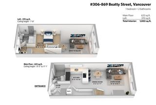 "Photo 36: 306 869 BEATTY Street in Vancouver: Downtown VW Condo for sale in ""THE HOOPER"" (Vancouver West)  : MLS®# R2551567"