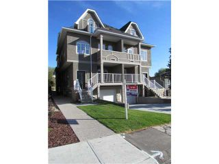 Photo 1: 2 2020 27 Avenue SW in CALGARY: South Calgary Townhouse for sale (Calgary)  : MLS®# C3503485