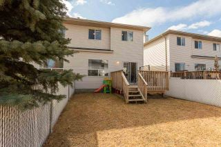 Photo 32: 23 16933 115 Street in Edmonton: Zone 27 House Half Duplex for sale : MLS®# E4239637