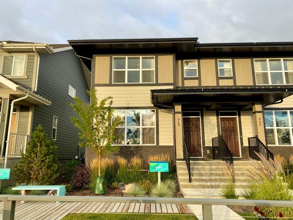 Main Photo: 948 Mahogany Boulevard SE in Calgary: Mahogany Semi Detached for sale : MLS®# A1146831