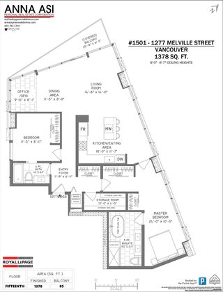 Photo 19: 1501 1277 MELVILLE STREET in Vancouver: Coal Harbour Condo for sale (Vancouver West)  : MLS®# R2596916