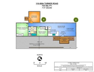 Photo 13: 110 5854 Turner Rd in : Na North Nanaimo Manufactured Home for sale (Nanaimo)  : MLS®# 875984