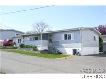 Main Photo: 133 Fraser Lane in VICTORIA: VR Glentana Manufactured Home for sale (View Royal)  : MLS®# 522089