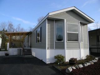 """Photo 1:  in Abbotsford: Central Abbotsford Manufactured Home for sale in """"Georgian Park"""" : MLS®# F1428759"""