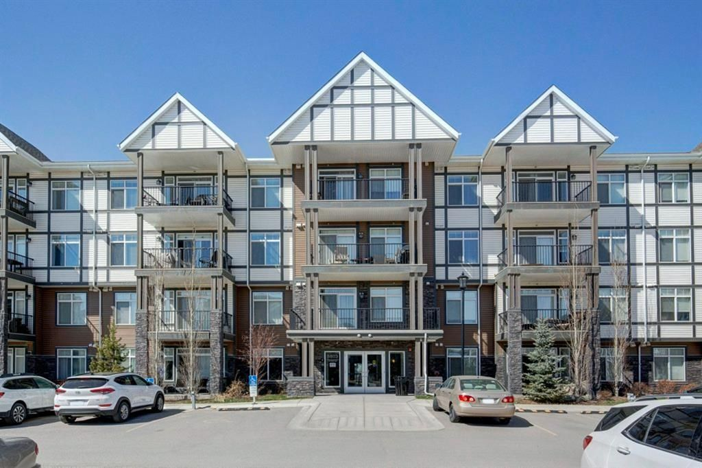 Main Photo: 415 6603 New Brighton Avenue SE in Calgary: New Brighton Apartment for sale : MLS®# A1098512