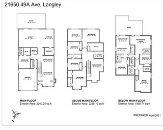 Photo 2: 21650 49A Avenue in Langley: Murrayville House for sale : MLS®# R2587516