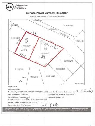 Photo 43: 4 Spanier Drive in Pasqua Lake: Residential for sale : MLS®# SK823913