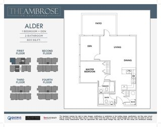"""Photo 4: 106 2389 HAWTHORNE Avenue in Port Coquitlam: Central Pt Coquitlam Condo for sale in """"The Ambrose"""" : MLS®# R2583926"""