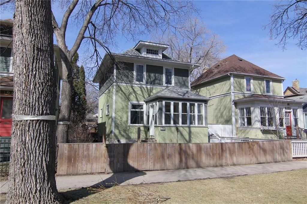 Main Photo: 196 Aubrey Street in Winnipeg: Wolseley Residential for sale (5B)  : MLS®# 202105408