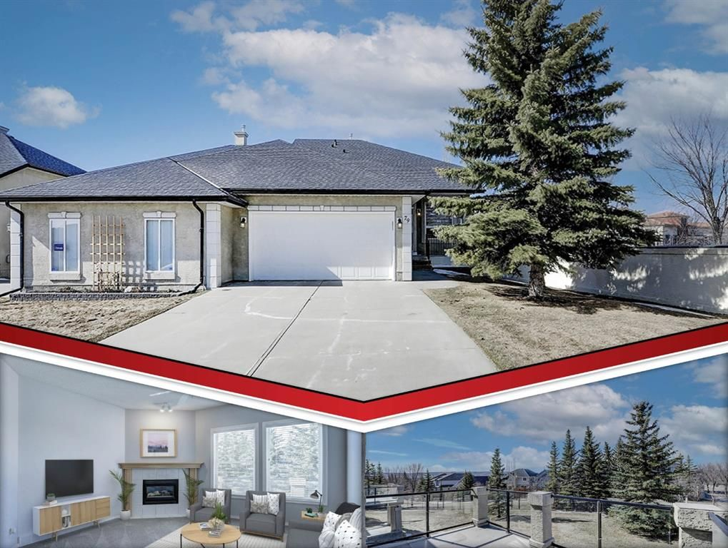 Main Photo: 79 Tuscany Village Court NW in Calgary: Tuscany Semi Detached for sale : MLS®# A1101126