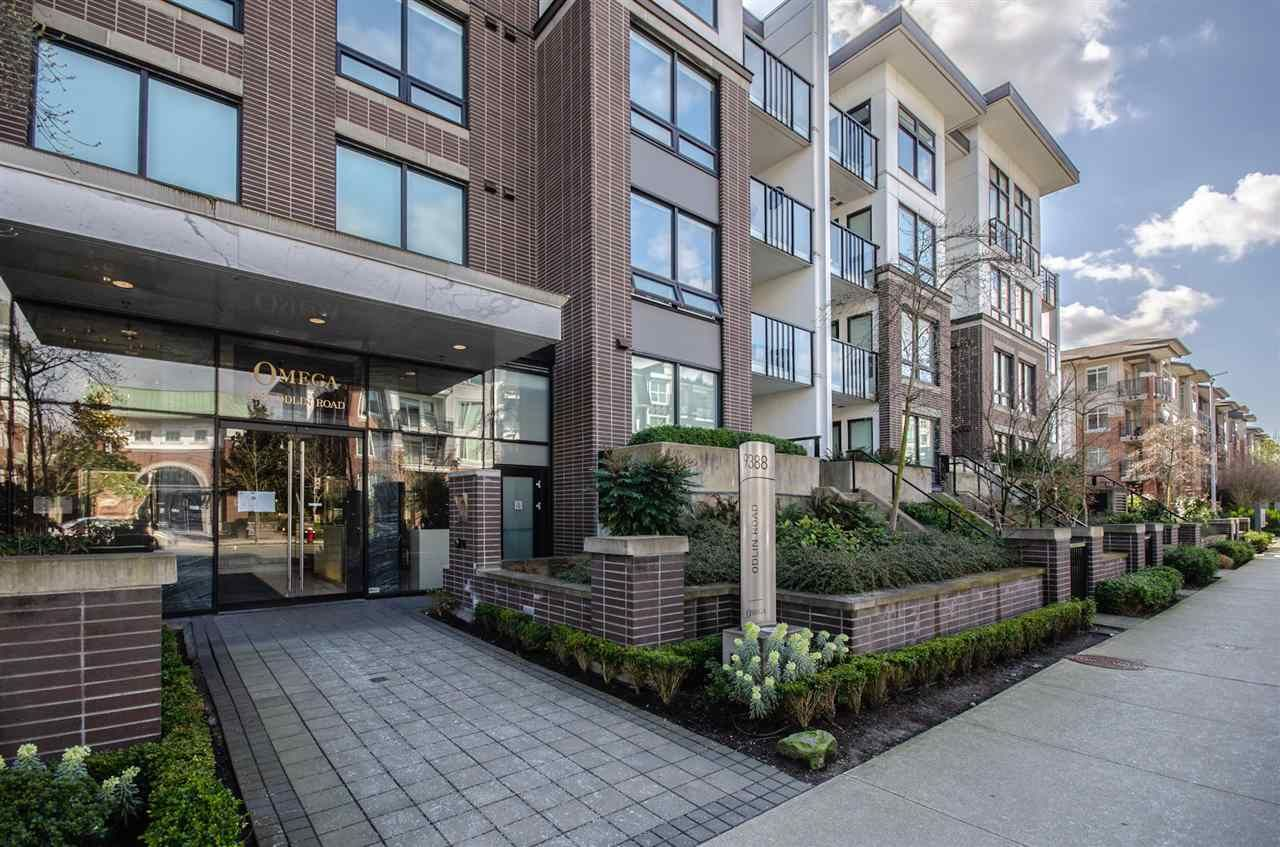 Main Photo: 217 9388 ODLIN ROAD in Richmond: West Cambie Condo for sale : MLS®# R2559334