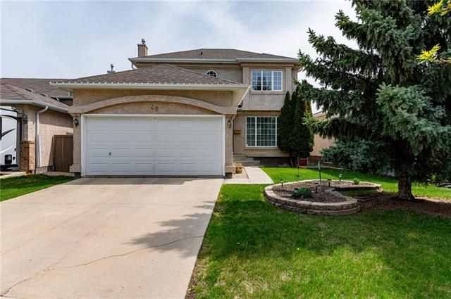 Main Photo: 49 Gobert Crescent in Winnipeg: River Park South Residential for sale (2F)  : MLS®# 1913790