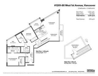 """Photo 28: 1201 88 W 1ST Avenue in Vancouver: False Creek Condo for sale in """"The One"""" (Vancouver West)  : MLS®# R2460479"""