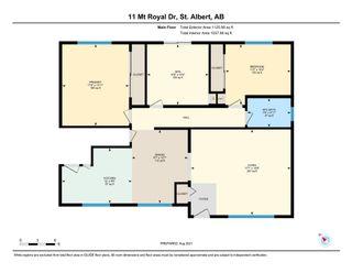 Photo 26: 11 MOUNT ROYAL Drive: St. Albert House for sale : MLS®# E4257349