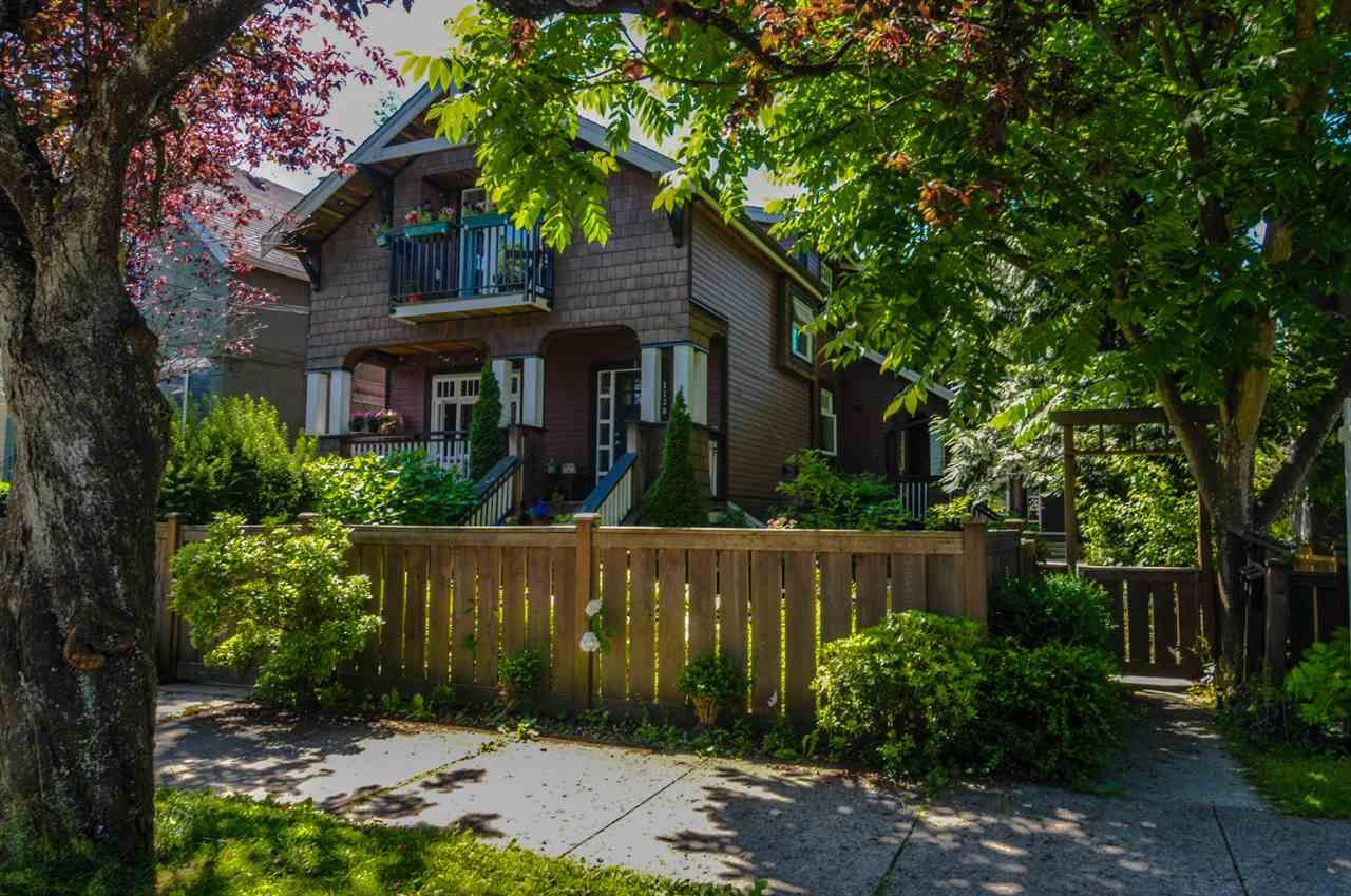 Main Photo: 1 1130 E 14TH AVENUE in Vancouver: Mount Pleasant VE Townhouse for sale (Vancouver East)  : MLS®# R2470688