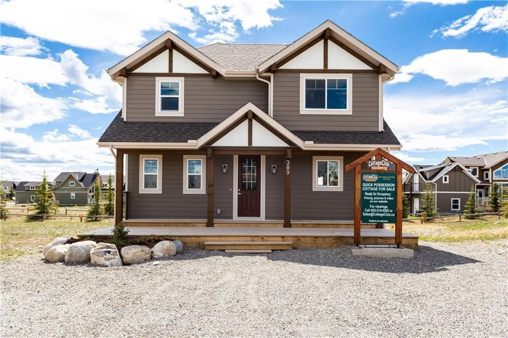 Main Photo: 309 COTTAGECLUB Link in Rural Rocky View County: Rural Rocky View MD Detached for sale : MLS®# C4296781