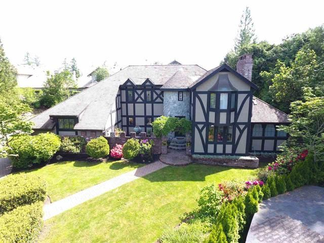 Main Photo: 5169 ALDERFEILD PLACE in West Vancouver: Upper Caulfeild House for sale : MLS®# R2173471