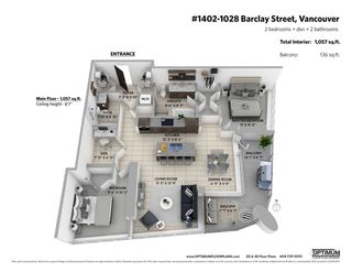 """Photo 20: 1402 1028 BARCLAY Street in Vancouver: West End VW Condo for sale in """"PATINA"""" (Vancouver West)  : MLS®# R2356934"""