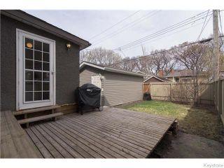 Photo 17: 595 Sherburn Street in Winnipeg: West End / Wolseley Residential for sale (West Winnipeg)  : MLS®# 1610978