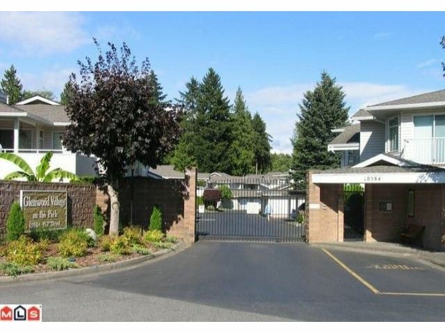 """Main Photo: 204 10584 153RD Street in Surrey: Guildford Townhouse for sale in """"Glenwood Village on the Park"""" (North Surrey)  : MLS®# F1019376"""
