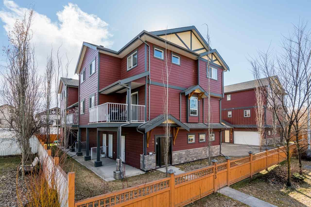 Main Photo: 103 1693 7TH Avenue in Prince George: Crescents Townhouse for sale (PG City Central (Zone 72))  : MLS®# R2358640