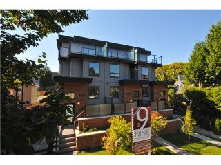 "Photo 1: 3331 Windsor in Vancouver: Fraser VE Townhouse  in ""The Nine"" ()"