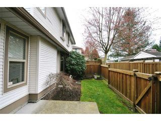 "Photo 15: 4 22280 124TH Avenue in Maple Ridge: West Central Townhouse for sale in ""HILLSIDE TERRACE"" : MLS®# V1111667"