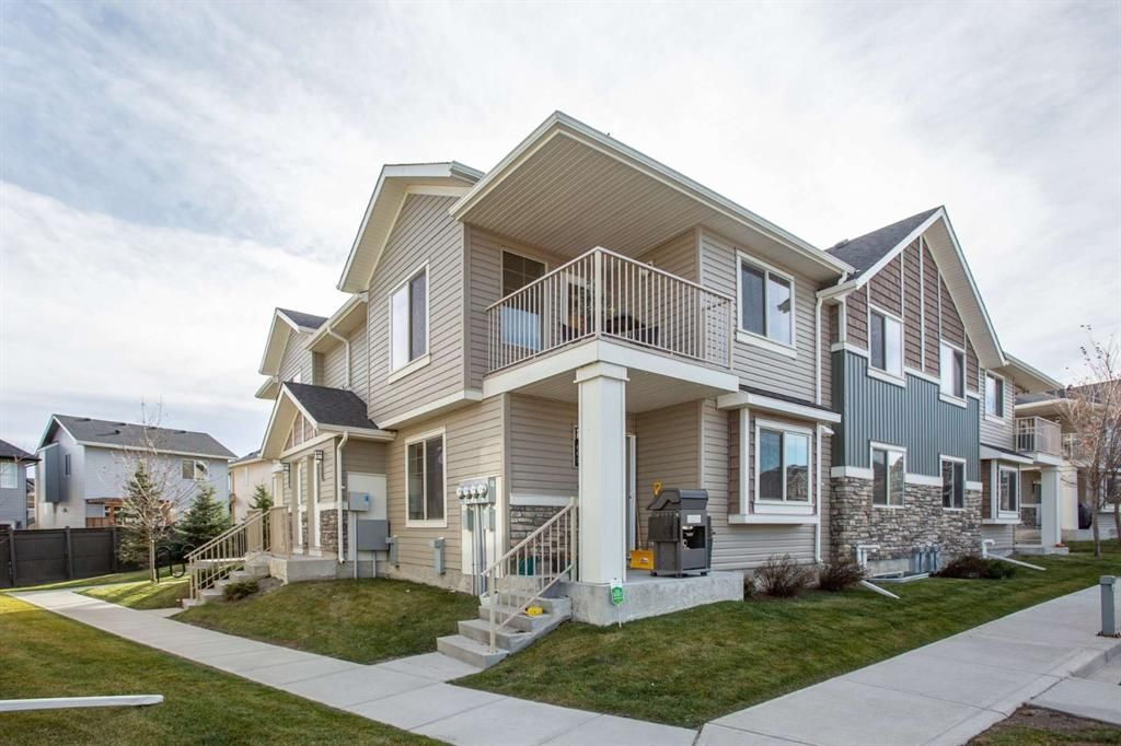 Main Photo: 603 250 Sage Valley Road NW in Calgary: Sage Hill Row/Townhouse for sale : MLS®# A1047150