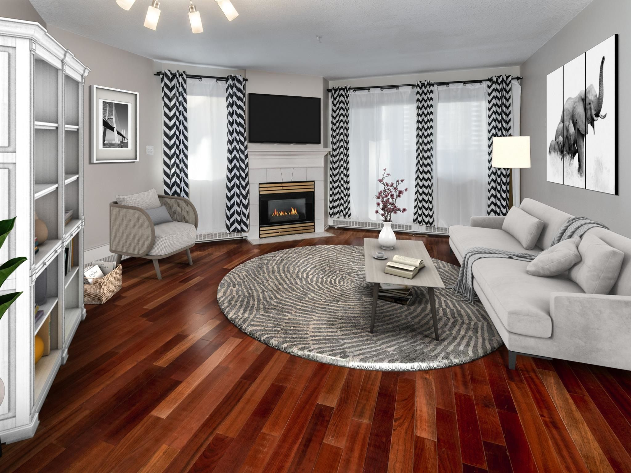 Main Photo: 411 11716 100 Avenue in Edmonton: Zone 12 Condo for sale : MLS®# E4265669