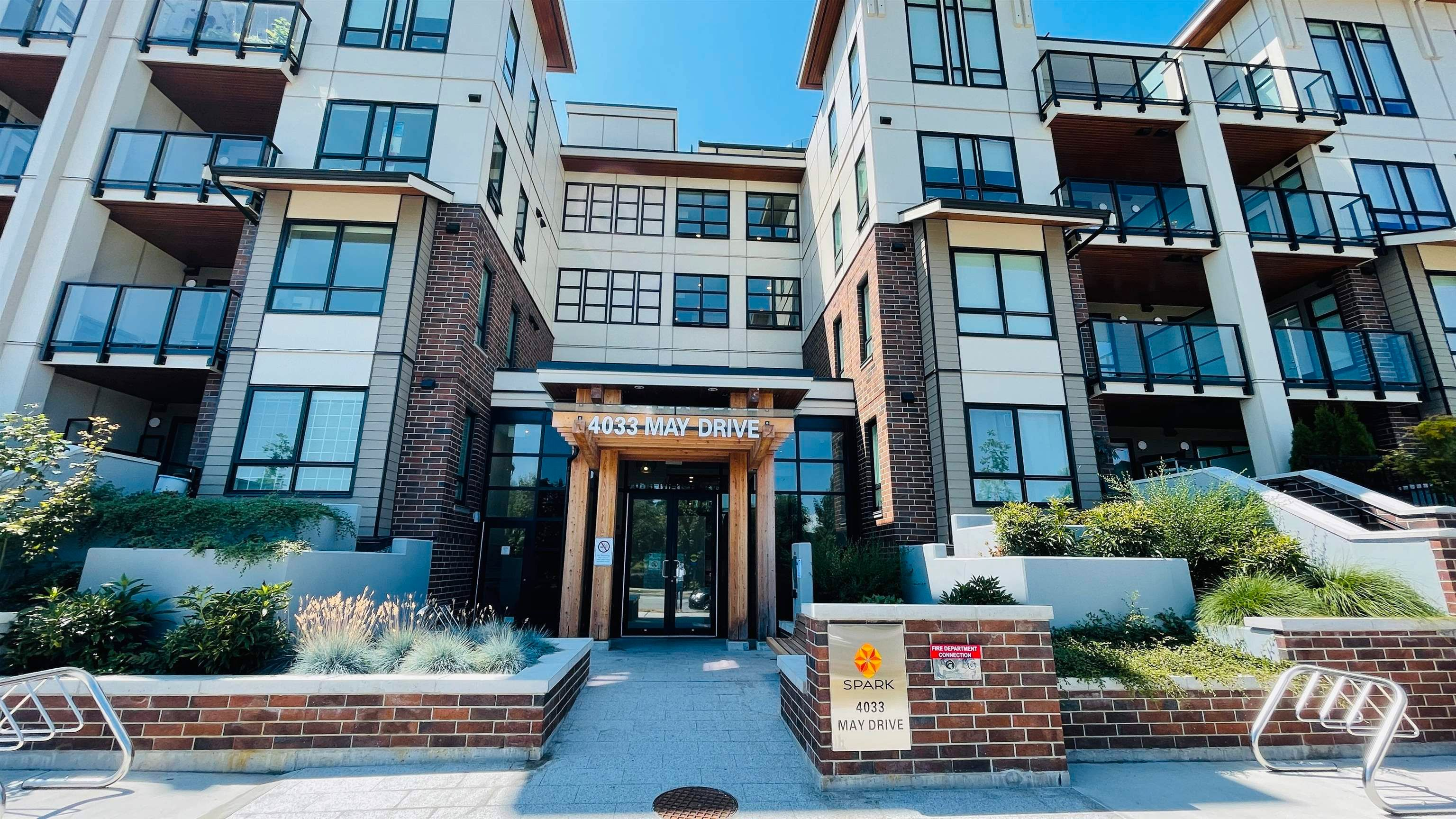 """Main Photo: 309 4033 MAY Drive in Richmond: West Cambie Condo for sale in """"Spark"""" : MLS®# R2608927"""