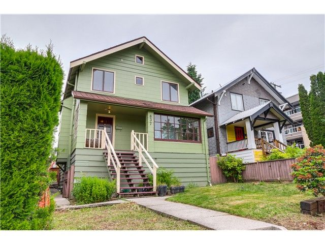 FEATURED LISTING: 637 24TH Avenue East Vancouver